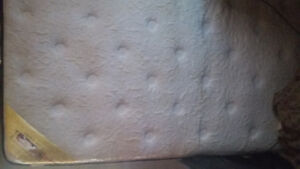 Double mattress for sale never been used clean