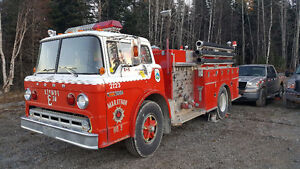1979 F900 pumper fire truck... trades wanted!!