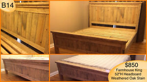 RUSTIC HANDMADE CUSTOM BEDS - TWIN/FULL/QUEEN/KING Kingston Kingston Area image 7