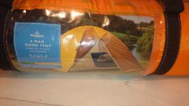 Morrisons 4 man dome tent