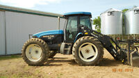 New Holland 1999 Bi-Directional  TV 140 tractor