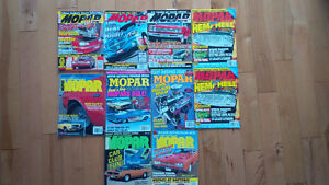 Bundle of Mopar High Performance, Muscle and Mopar Action Mags