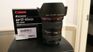 Canon EF 17-40mm f/4L USM    Zoom grand angle