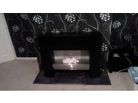 Electric fire and surround for sale 120