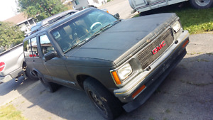1993 GMC jimmy best offer.  Project vehicle