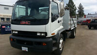 2001 GMC Cab Over 5 Ton Dump Truck