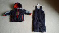 Winter snowsuit for boys size 3 years