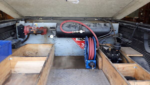 Fuel transfer tank and pump