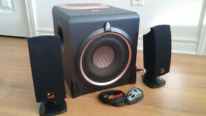 Systeme audio 3 pieces - Accoustic Authority A-3780