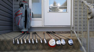 Great price. Golf club set. Left handed.