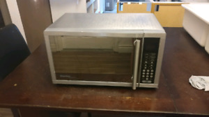 Danby stainless steel microwave