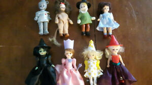 "Complete Set of Madame Alexander ""Wizard of Oz"" Dolls from 2007"