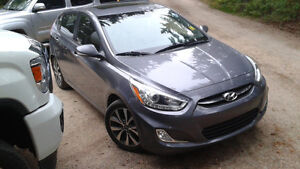 2015 Hyundai Accent hatch. Extended warranty