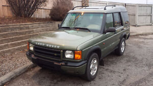 2000 Land Rover Discovery w/Leather SUV - All Wheel Drive