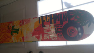 Technine snowboard with binding all never been used