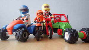 Playmobil Four off road vehicles for sale