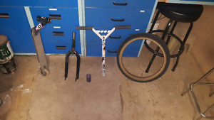 Scooter and bmx parts