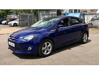 2014 Ford Focus 1.6 125 Zetec Navigator Powers Automatic Petrol Hatchback