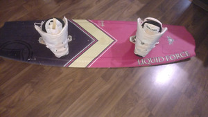 Liquid Force Mission 144 Kiteboard w bindings