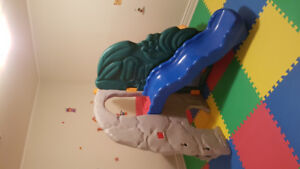 Little tikes jungle climber slide used indoors only