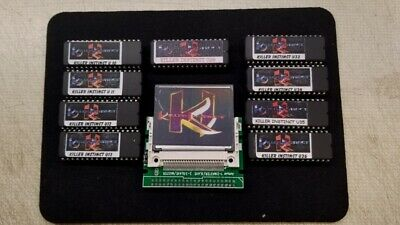 NEW KILLER INSTINCT 1 SOUND EPROMS, BOOT EPROM AND THE COMPACT FLASH CARD