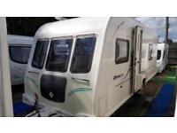 2011 Bailey Olympus 534 4 Berth Fixed Bed End Washroom Caravan