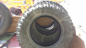 3 Good year Dura track tires 275 70 R18