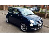 2017 Fiat 500 1.2 Lounge 3dr 17 Plate with L Manual Petrol Hatchback