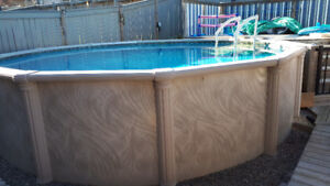 18 Foot Above Ground Pool
