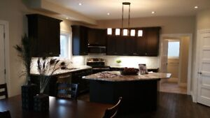 Kitchen Cabinets, Re-facing Doors, Granite, Quartz