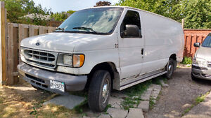 FOR SALE  1999 Ford E-350 Minivan, Van OR TRADE FOR A ?