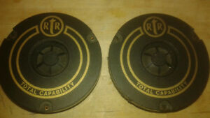RTR 1 inch soft dome tweeters.  matched pair.  perfect working