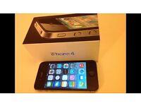 IPhone 4 black 16gb unlocked any network