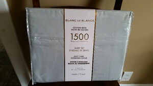 Blanc De Blancs Cotton Rich Sheet Sets - Full and Queen