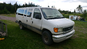 2003 passenger van. (Seats up to 11)