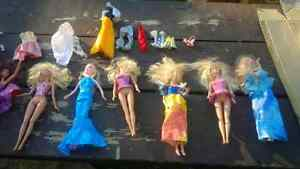 collection of barbies and accessories Cambridge Kitchener Area image 2