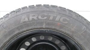 Complete Set 0f 4 Winter Tires and Rims for Sale