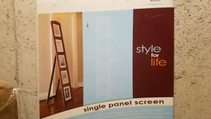 Single panel pictures frame