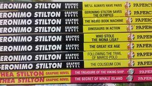 ▀▄▀ Geronimo Stilton Thea STILTON- HC Books Graphic Novel - #
