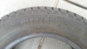 2 sets of 4 winter tires in excellent condition like brand new