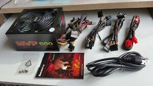 HuntKey MVP 500 Modular Power Supply for Game PC
