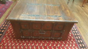 Antique coffee table Sold wood