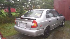 2002 Hyundai Accent Sedan
