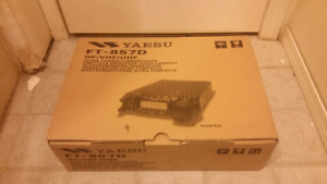 Yaesu FT-857D Ham/Amateur radio for sale