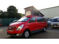 Hyundai i-Camper by Wellhouse, Rosso Edition, 5 seater, elevating roof, manual or auto.