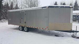 2002 26 ft. Sled trailer