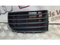 VW GOLF MK5 2004 - 2008 FRONT BUMPER LOWER GRILLE LEFT PASSENGER SIDE NEW