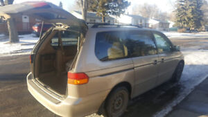 HONDA ODYSSEY 2004 FOR SALE AND IN EXCELLENT CONDITION