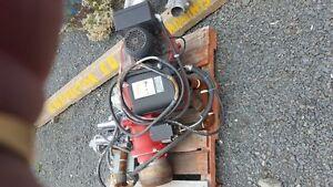 heavy duty oil or gas burner