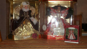 2 SPECIAL EDITION CHRISTMAS BARBIES $25 each